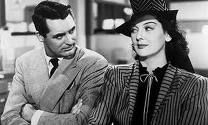 Rosalind Russle  and Cary in His Girl Friday