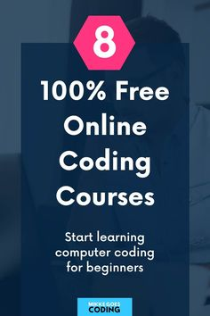 Are you looking for a free online coding course for beginners? Check out these awesome websites where you can learn to code for 100% free. Use these tutorials, guides, and tips to learn the right programming language and to build your first coding and web development projects for practice. Have fun! #coding #learntocode #programming #webdevelopment #webdeveloper #mikkegoes Learn Computer Coding, Learn Computer Science, Learn Programming, Programming Languages, Free Online Coding Courses, Coding For Beginners, Web Development Projects, Great Websites, Learn To Code