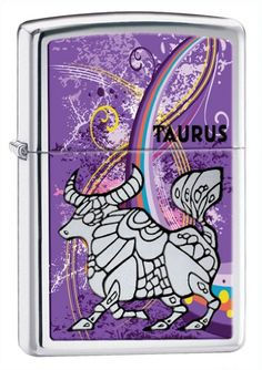 Zippo Zodiac Taurus High Polish Chrome Lighter *** Learn more by visiting the image link.