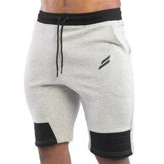 0677efc6c2bd New Fashion Men Sporting Beaching Shorts Trousers Cotton Bodybuilding  Sweatpants Fitness Short Jogger Casual Gyms Men Shorts