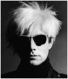 Andy Warhol,  Photo Greg Gorman 1985  Greg Gorman (born 1949) is an American portrait photographer of Hollywood celebrities.
