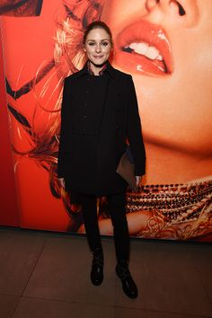 Olivia Palermo attends the opening party of Hair by Sam McKnight, a major new exhibition celebrating the 40-year career of the master hairstylist, at Somerset House on November 1, 2016 in London, England.
