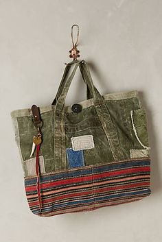 One-of-a-Kind Jajim Delivery Tote
