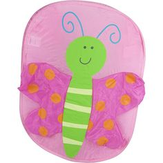 Babies R Us Pop Up Hamper - Butterfly