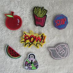 Different kinds mixed patch Children's favorite hot melt adhesive applique embroidery patch DIY clothing accessory patch #clothing,#shoes,#jewelry,#women,#men,#hats,#watches,#belts,#fashion,#style