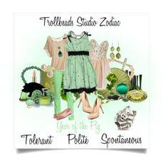 Trollbeads Zodiac- Chinese Pig