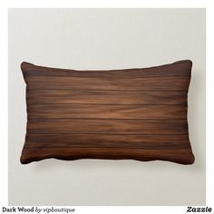 Dark Wood Lumbar Pillow Lumbar Pillow, Throw Pillows, Brown Cushions, Christmas Card Holders, Dark Wood, Custom Pillows, Keep It Cleaner, Make It Yourself, Color
