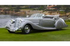 1937 Horch 853 Voll  Ruhrbeck Sport Cabriolet -- that is one sexy, sexy car, people.