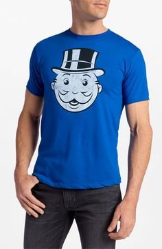 Topless  Monopoly Man  Graphic T-Shirt  8e54c8f5ef2