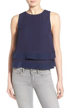 Rebecca Minkoff 'Marie' Silk Layer Sleeveless Top available at #Nordstrom