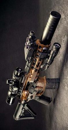 Build Your Dream Custom Assault Rifle – Custom AR. Build Your Sick Cool Custom Assault Rifle Firearm With This Web Interactive Firearm Builder with ALL the Industry Parts - See it yourself before you buy any parts Military Weapons, Weapons Guns, Airsoft Guns, Guns And Ammo, Ar Rifle, Custom Guns, Custom Ar15, Assault Rifle, Cool Guns