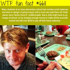Hotel owners pays off the overdue lunch balances for elementary students - WTF fun facts