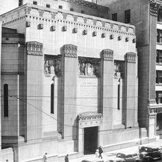 Pacific Coast Stock Exchange, Los Angeles branch building, Samuel Lunden, John Parkinson, Donald Parkinson, 1930