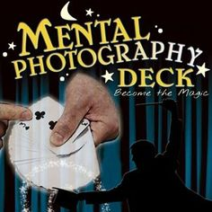 Mental Photography Deck Poker Size -Magic Trick Playing Cards -Fun & Easy to Do Magic Tricks Tutorial, Easy Magic Tricks, Tutorials, Learn Magic, Bicycle Cards, Sleight Of Hand, Step Cards, Card Tricks