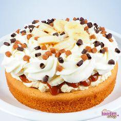Recept: Banaan karamel slof   Deleukstetaartenshop.nl