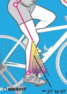How to Find Your Ideal Saddle Height - I Love Bicycling More Road Bike Information at www.bestbikeguide.com
