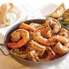 New Orleans Barbecue Shrimp | We can't get enough of grilled shrimp! Here's a recipe via Louisiana Seafood Promotion and Marketing Board.