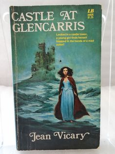 Castle at Glencarris by Jean Vicary 1972 Gothic Leasure Book 449ZK GD Paperback