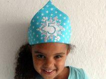 Geburtstagskrone Elsakrone Eiskönigin Krone