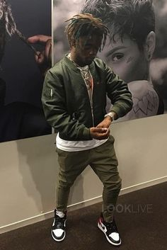 Lil Uzi Vert wearing Nike Air Jordan Retro 1 OG