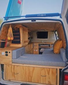19 THE IDEA of a Camper Van Backseat Chair – camperlife – camping Truck Camper, Camper Life, Camper Trailers, Cabover Camper, Rv Campers, Casas Trailer, Camping Diy, Camping Ideas, Kombi Home