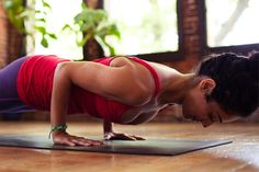 A proper chaturanga is sure to strengthen and tone just about every fiber of muscle on your body.