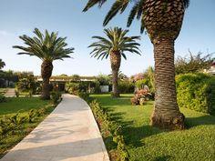 Die Gartenanlage im ROBINSON Club Apulia