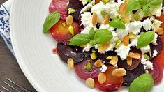 It has incredible health benefits! Fennel Salad, Beet Salad, Cobb Salad, Marilyn Denis Recipes, Lavender Dresses, White Wine Vinegar, Roasted Beets, Feta, Salads