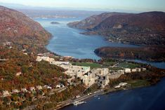 West Point-Chain Hoax-Aerial View-Military Academy-New York-Hudson Great Places, Places Ive Been, Beautiful Places, Hudson River, Hudson Valley, West Point New York, Places To Travel, Places To Visit, United States Military Academy