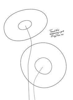 How to draw gerberas step by step | ARCMEL.COM
