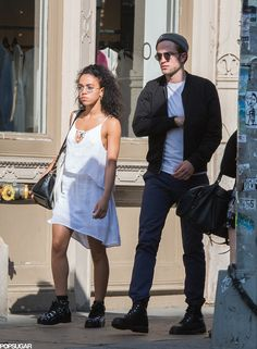 Robert Pattinson and FKA Twigs Take On NYC Together