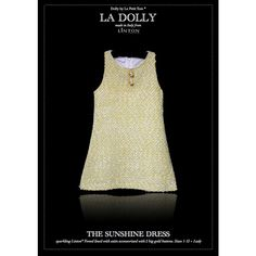 BUY Dolly by Le Petit Tom La Dolly Sunshine Dress AT Merrylovejoy.com