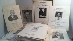 Collection Of 93 Vintage Mississippi Obituaries African American Genealogy