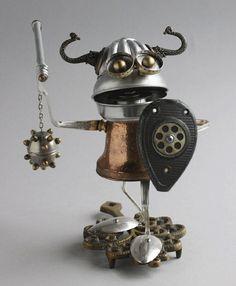 Adote um robô feito com material reciclado (42 fotos) - Metamorfose Digital