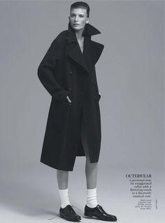 """Flip Side"". Valerija Kelava by Chad Pitman for Vogue Australia, September 2013"