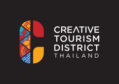 Creative Tourism District on Behance S Logo Design, Brand Identity Design, Graphic Design Branding, City Branding, Logo Branding, Inspiration Logo Design, Logos, City Logo, Event Logo