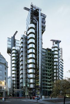 Lloyds of London Headquarters in London. Architecture at its finest.