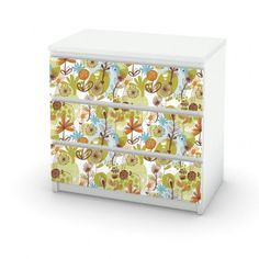 Flowers Colors Ikea Furniture Cover.