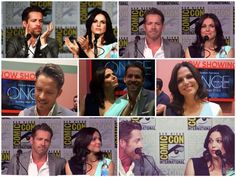 Sean and Lana at the 2015 Comic Con #OutlawQueen