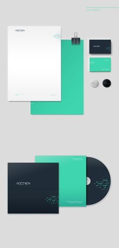 ACCENON Stationery Design by Oven