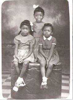 Black History Album .... The Way We Were — Little Darlings   1940s
