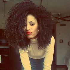 i love god natural hair | Coily Hair - Type 4A.