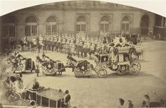 Enterrement du prince Jérôme, l'attelage funéraire