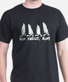 3-run forest WHITE T-Shirt for