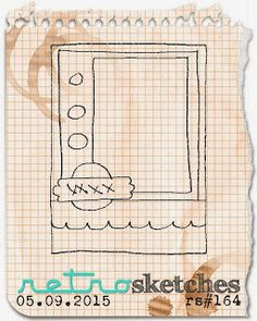 Retro Sketches Challenge #164