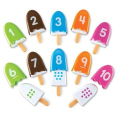 26 Pieces Sweet-Tempered Learning Resources Smart Snacks Alpha Pops Toys & Hobbies Alphabet & Language