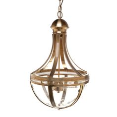 Empire Pendant | Gold | 43x75cm by Lighting Clearance Sale on THEHOME.COM.AU