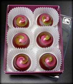 Sweet Chalet's Aurora chocolate bonbons Orange Grand Marnier flavor