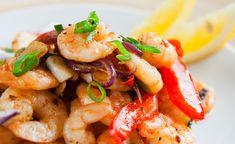 10 Sheet Pan Shrimp Recipes Even Seafood Haters Will End Up Loving – Foods Pan Shrimp Recipe, Shrimp Recipes, Fish Recipes For Kids, Ways To Cook Shrimp, Carlsbad Cravings, Shrimp Dishes, Fish Dinner, Main Meals, Sheet Pan