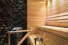 Saunaofen Cilindro mit vielen Saunasteinen ist ein Schmuckstück für jede Sauna http://www.wellness-stock.de/Saunaofen-Cilindro | Etuovi.com